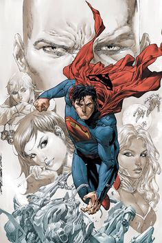 Action Comics #18 // Cover Art by Tony Daniel.....sexxxxxy