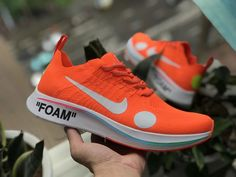 55b8def22233f Off-White x Nike Zoom Fly Mercurial Flyknit Orange FIFA World Cup 2018  AO2115-