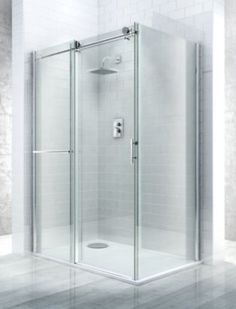 Cooke & Lewis Eclipse (W)1200mm Right Handed Rectangular Shower Enclosure & Tray Pack, 0000004086130