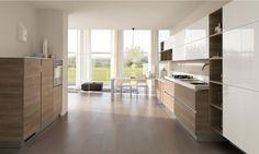 Minimalist style inspiration | Scavolini Mood kitchen | Decoland