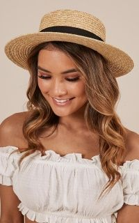 Complete your look with the By The Harbour Hat in Natural and Black from Showpo! Buy now, wear tomorrow with easy returns available. Womens Fashion Stores, Womens Fashion For Work, Hipster Hat, Women's Fashion Dresses, Fashion Hats, Fashion 2018, Fashion Watches, Fashion Clothes, Fashion Ideas