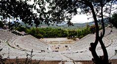 Ancient Theatre of Epidaurus- the magestic