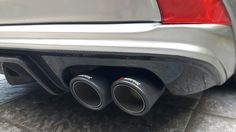 Aimgain difuser with akrapovic mufler tips