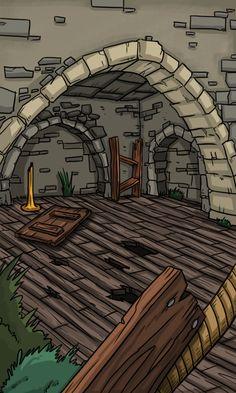 JAVIER ARRÉS ILLUSTRATION: Card for RPG fantasy videogame. (without frame)