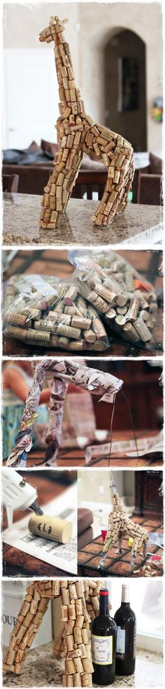 How to: Make your own sculpture out of recyclables.