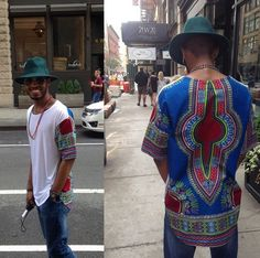 20 Amazing Fashion Styles With Dashiki Fabric African Inspired Fashion, African Print Fashion, Africa Fashion, Men's Fashion, Fashion Prints, Urban Fashion, Fashion Styles, African Attire, African Wear
