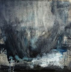 Oil on canvas. Title - The Beginning. Artist - Antonio Ortiz. New York City.