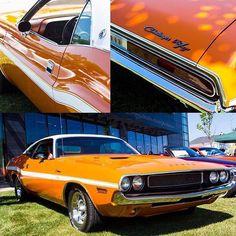 Sun-kissed Challenger. #DreamCruise - photo from dodgeofficial #FieldsCJDR #Florida #Chrysler #Jeep #Dodge #Ram #Sanford #FieldsCJD