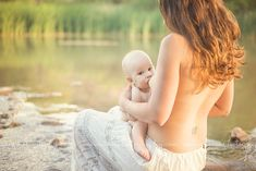 Nursing Photography in the water.  Breastfeeding photography.   Breastfeeding is beautiful! anironphotography.com