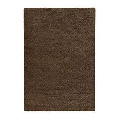 "IKEA - ÅDUM, Rug, high pile, 4 ' 4 ""x6 ' 5 "", , The dense, thick pile dampens sound and provides a soft surface to walk on.Durable, stain resistant and easy to care for since the rug is made of synthetic fibers.The high pile makes it easy to join several rugs, without a visible seam."
