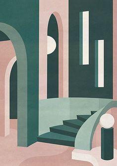 charlotte-taylor | Product Page Small Canvas Art, Mini Canvas Art, Guache, Pics Art, Minimalist Art, Geometric Art, Art And Architecture, Vector Art, Charlotte Taylor