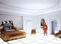 likeafieldmouse:  2001: A Space Odyssey, Behind the Scenes