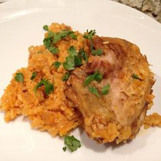 Curry Chicken and Coconut rice recipe