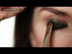 Smokey eyes video make up tutorial- video tutorial maquillaje ojos ahumados
