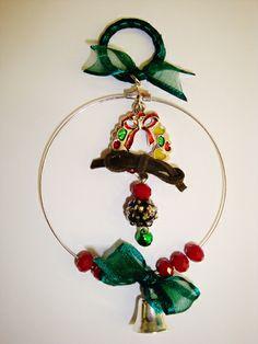 ΓΟΥΡΙΑ Christmas Time, Christmas Ideas, Christmas Crafts, Christmas Ornaments, Lucky Charm, Amelie, Felt, Charmed, Drop Earrings
