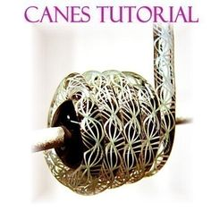 9 Different Canes Lampwork Glass Bead Tutorial - Step by Step instructions for intermediate glass canes