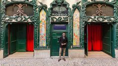 The impressive photo series is by photographer Sebastian Erras, an explosion of tile typical of the region, carved-stone decorative facade elements, and eye-popping signage.
