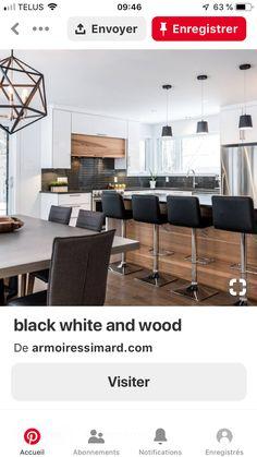 Kitchen Designs, Kitchen Ideas, Industrial Chic Kitchen, New Kitchen, Future House, Home Kitchens, Living Room Designs, Sweet Home, New Homes