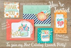 New catalog samples song of my heart stampers stampin up 2016