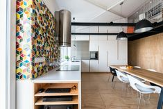 Loft Apartment in Superstructure by RULES architects