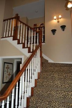 Of Course I Love The Touch Of LEOPARD!! | My Dream House Stuff | Pinterest  | Leopards, Staircase Runner And Leopard Carpet