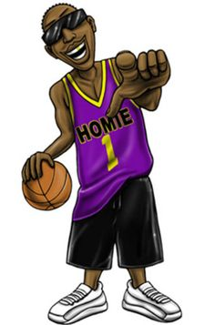 Gangsta Hoopa : Gangsta Hoopa is a thug on the basketball court. Nobody...I mean   nobody...come to his house and disrespects it. Already a playground legend in the streets of L.A. Gangsta Hoopa is soon going to sign his own tennishoe deal. He is a senior at Homie High and is going to go straight to the NBA. Hoopa is hoping to get drafted by the Lakers so he can help out kobe and Shaq regain a world Championship. There are even rumors the Lakers are loosing on purpose so they can get a…
