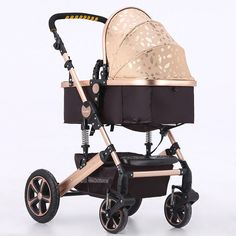 Comfortable Newborn Carriage Infant Travel Foldable Pram Baby Stroller Pushchair | eBay