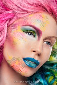 Jessa by Robert Gordon. #makeup #fantasy