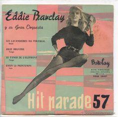 EDDIE BARCLAY / LES LAVANDIERES DU PORTUGAL / JOLIE BRUYERE 2 (EP 1959)