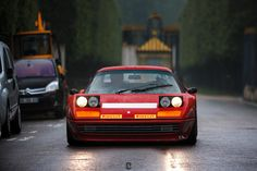 Ferrari, looks almost like a Mondial but it's actually a Boxer