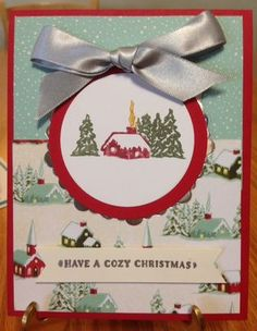 Cozy Christmas Stamp Set; 2015 Stampin' Up Holiday Catalog; www.jansstampingcreations.com