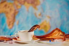 Coffee on deck by Arken IFTTT saucer Australia blue coffee cup deck dream exiting geography high speed holiday map o Splash Photography, Food Photography, Blue Coffee Cups, Writing Photos, Still Life Photographers, Tea Lights, Deck, Tableware, Holiday Travel