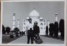 Moose & Sonja - Taj Mahal november 19 1964