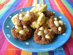 Moorish Macadamia Biscuits  (Gluten Free - No Added Sugar)