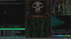 100% accurate depiction of a hacker's desktop - Click for animation.