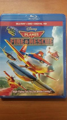 DISNEY PLANES 2  Fire and Rescue BLU-RAYDVDDIGITAL HD COPY  BRAND NEW  Item specifics  Condition:  Brand New: An item that has never been opened or removed from the manufacturers sealing (if applicable). Item  Sub-Genre:  Animation/Anime  Genre:  Animation & Anime  Director:  BOB Gannaway Robert Gannaway Roberts Gannaway  Movie/TV Title:  PLANES Fire & Rescue  Rating:  G  Release Year:  2014  Format:  Blu-ray Disc DVD Digital HD Set  Former Rental:  No  UPC:  0786936842685  DISNEY PLANES 2…
