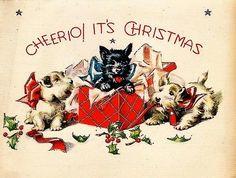 Cheerio! It's Christmas!