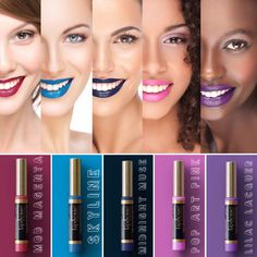 5 new LipSense colors!!! The Prism of Colors Collection. Mod Magenta LipSense: an energizing red-pink  Skyline LipSense: a light blue-turquoise   Lilac Lacquer LipSense: a fabulous lavender    Pop Art Pink: a cool pastel pink  Midnight Muse LipSense: a deep navy