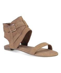 This Tan Magical Sandal is perfect! #zulilyfinds
