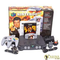 Nintendo 64 N64 Goldeneye 007 Game Console & Controller Boxed! UK PAL Bundle