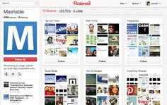 Mashable's doing it right. Don't you think? #PinterestDay