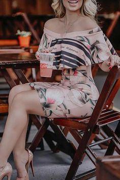 Floral Print Off Shoulder Bodycon Dress – streetstylepop Mini Prom Dresses, Mini Dress Formal, Boho Mini Dress, Pop Clothing, Casual Summer Dresses, Dress Casual, Pretty Dresses, Dress Outfits, Bodycon Dress