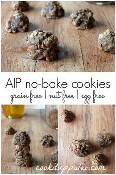 AIP No-Bake Cookies - cookituppaleo.com