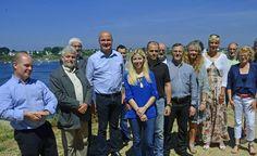 22 ans après la liquidation judiciaire du chantier de Bretagne Sud située sur la ria d'Étel (56), la nef de construction abritera en octobre la construction d'un bateau de pêche écologique de 12 mètres, l'Aour Lan.