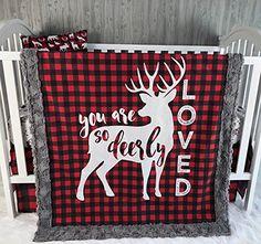 Baby Blanket , Baby Minky blanket , Woodland , Deer , Buc... https://www.amazon.com/dp/B077G7CPJ8/ref=cm_sw_r_pi_dp_x_GWCdAbJ2K2B1N