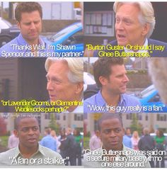 Gus focusing on the real issues haha Psych Memes, Psych Tv, Psych Quotes, Tv Show Quotes, Best Tv Shows, Best Shows Ever, Favorite Tv Shows, Movies And Tv Shows, Real Detective