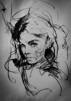 Line Drawing, Drawing Ideas, Charcoal Sketch, Colorful Paintings, People Art, Creature Design, Drawing People, Figurative Art, Sculpting