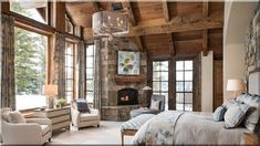 Image rustic homes interior design hosted in Life Trends 1 Rustic Home Interiors, Rustic Homes, Cottage Homes, Rustic Furniture, Home Interior Design, French Country, Sweet Home, Home Decor, Cozy House