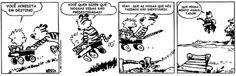 Calvin & Haroldo - Tirinha #013