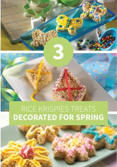 Tired of winter? You and your kids will have a blast with these fabulous creations and get a little taste of the spring to come!